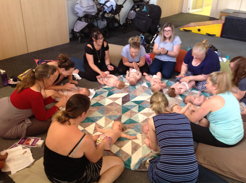 Baby massage course, North West Tasmania