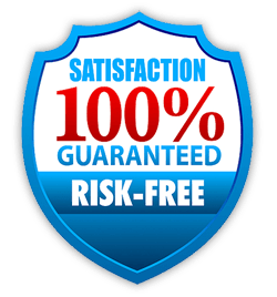 Your 100% risk free guarantee